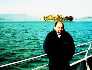 gary dakinalcatraz in background